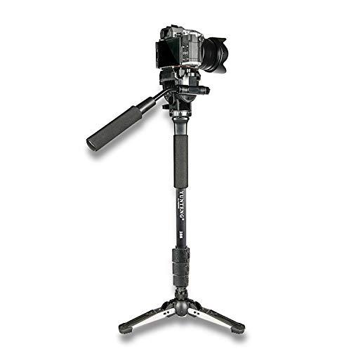 Monopé com Cabeça Fluida Câmera DSLR e Vídeo - Yunteng VCT-288-1,48m