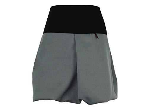 Falda de globo de diseño oscuro en dos longitudes, color a elegir 45 cm, gris y negro. 44-46