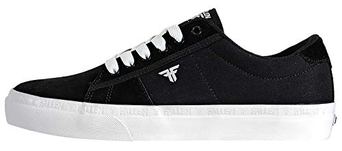 Fallen Men's Bomber Black/White Skate Shoes 9.5