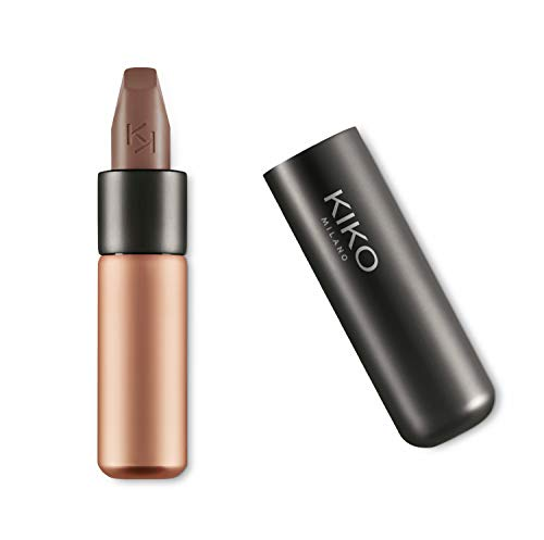 KIKO Milano Velvet Passion Matte Lipstick, 332 Taupe Brown, 3.5g