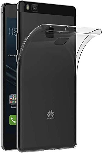 Captor Cover Trasparente per Huawei P9 Lite, Custodia TPU in Silicone Flessibile Morbida e Sottile, Protezione di Alta qualità con Bordo Rialzato per Schermo e Fotocamera