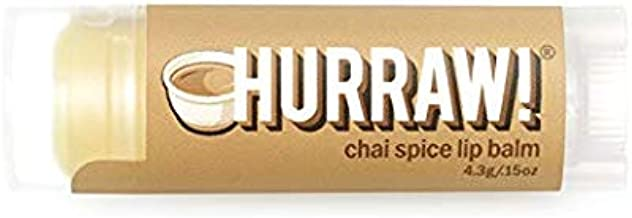 Hurraw! Organic Chai Spice Lip Balm | Pack of 3 by Hurraw: Amazon.es: Belleza