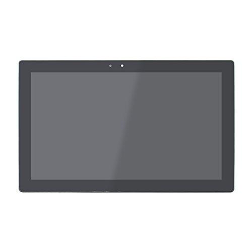 FTDLCD 12 Zoll LED LCD Touch Screen Digitizer Display Bildschirm Assembly Ersatzteil mit Rahmen fur Lenovo IdeaPad Miix 700 12ISK 80QL 2160x1440