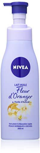 NIVEA Lait-Huile Fleur d'Oranger/Huile d'Avocat 200 ml