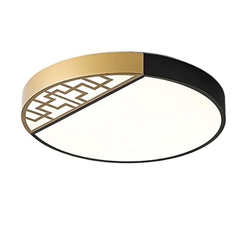 SHUANGZ Lámpara De Techo LED Panel De Luz Chino 3 Color De Luz Variable Ahorro De Energía Ultrafino Instalación Integrada Accesorio De Iluminación Fácil De Instalar Decoración De La Iluminación