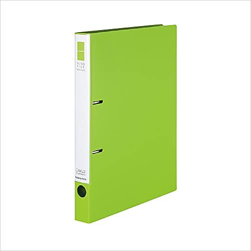 コクヨ ファイル リングファイル スリムスタイル PPシート表紙 A4 黄緑 フ-URF430YG