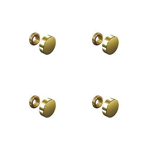 TOOGOO 50 x Bouchon dore de boucle doreille R