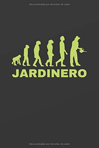 JARDINERO: CUADERNO DE NOTAS PARA JARDINERÍA. LIBRETA DE APUNTES, DIARIO PERSONAL O AGENDA. REGALO DE CUMPLEAÑOS.