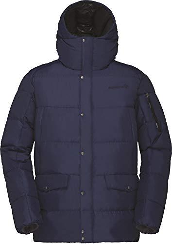 Norrona M Roldal Down750 Jacket Blau, Herren Daunen Freizeitjacke, Größe S - Farbe Indigo Night