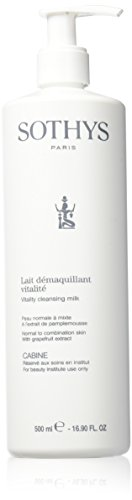 Sothys Vitality Cleansing Milk -Professional Size 16.90 oz. by Sothys