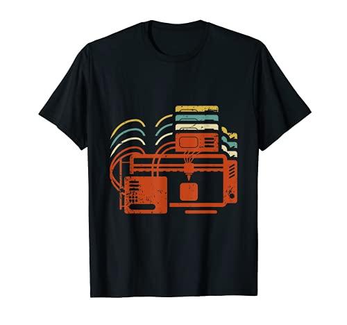 Camiseta de impresión 3D para un entusiasta de impresora 3D Camiseta