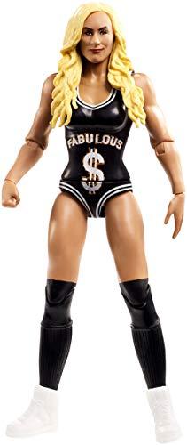 Mattel FMF12 WWE Carmella 15 cm Basis Figur, Spielzeug Actionfiguren ab 6 Jahren