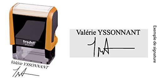 Stempel, zelfkleurend, met uw persoonlijke handtekening, 47 x 17 mm, Printy Trodat 4912