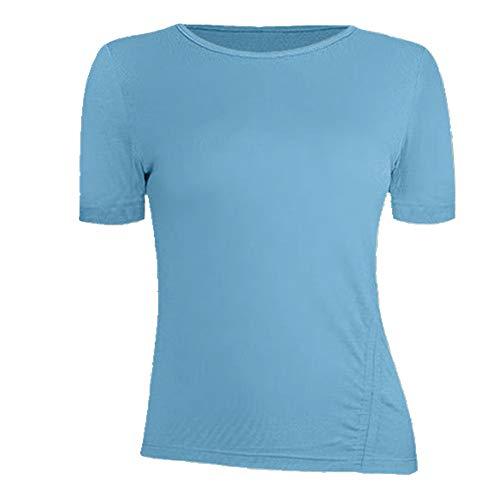 N\P Sudadera de manga corta con cordón de verano, para correr, fitness, vestido de yoga suelto para mujer