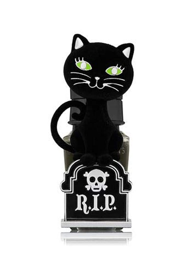 クロニクルアダルト全員【Bath&Body Works/バス&ボディワークス】 ルームフレグランス プラグインスターター (本体のみ) ハロウィン 黒猫 ナイトライト Wallflowers Fragrance Plug Halloween Tombstone Kitty Night Light [並行輸入品]
