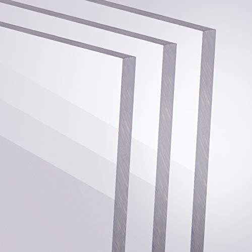 Acrylglas 5mm GS PMMA Transparent Glasklar Zuschnitt Größe Wählbar 800 x 1200 mm
