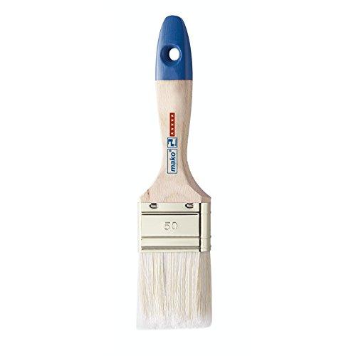 Acrilico pennello piatto pennello makofil aqua setole miscela misura 30 - 100 mm