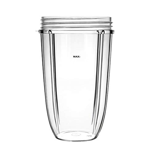 AidShunn Entsafter Cups für NutriBullet Ersatzteile 600w 900W 18OZ 24OZ 32OZ Klare Tassen Mixer Entsafter Mixer-(24OZ)