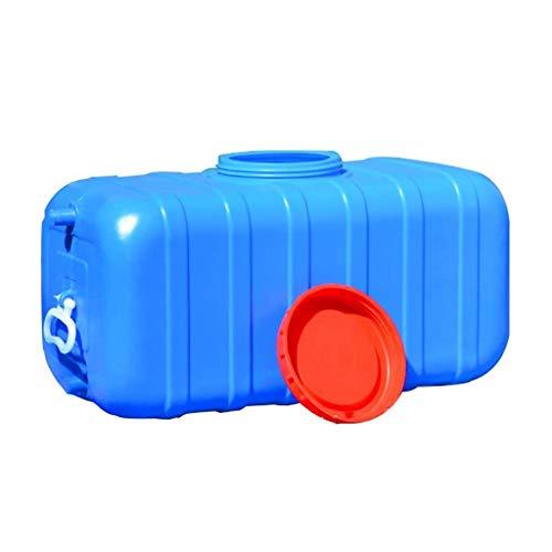 WYNZYYX Outdoor-Wassertank mit großem Fassungsvermögen, lebensmittelechter Wasservorratsbehälter aus Kunststoff, eckiger Haushaltseimer säure- und alkalibeständig, alterungsbeständig (Size : 45L)