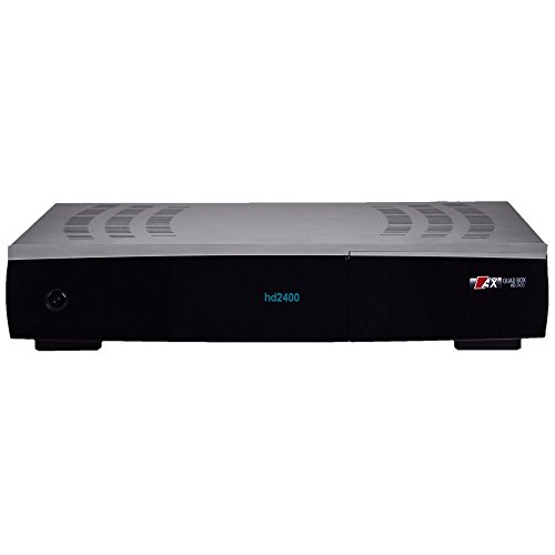 AX Quadbox HD 2400 E2 Twin 2x DVB-S2 Linux Receiver, 1TB