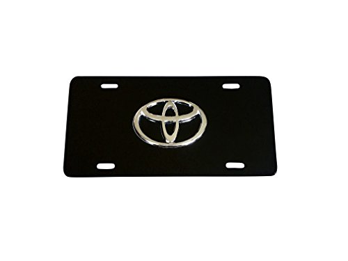 toyota camry chrome license plate - 2