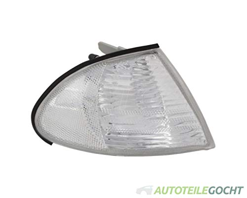 Blink Lampe Clignotant Blanc droite pour BMW E46 berline Break 1998–2005