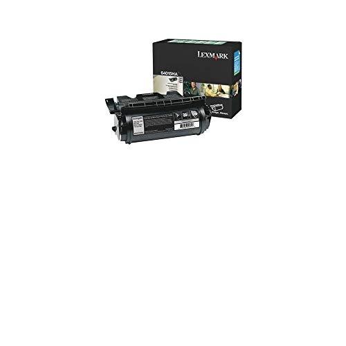 Lexmark 64015HA High Yield Return Program Print Cartridge, Black