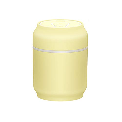GYJ Humidifier/Ultrasonic Cool Mist Best Air Filter-Free- Send A Night Light Fan for Bedroom/Home Living Room/Baby and Office Best Gift,Yellow