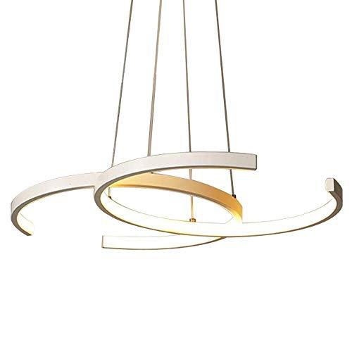 ZHAOJDD Light up Life / Boutique Lighting kroonluchter wit hanglamp eettafel eetkamer hanglamp 46W keukeneiland hanglamp Moderne landelijke stijl kroonluchter acryl lampenkap 4500 K.