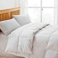 Piumino 200 gr Tinta Unita Bianco per Mezza Stagione Primaverile o Autunnale in Morbida Microfibra Misura Matrimoniale cm 250x200