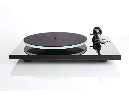 #05 GIRADISCHI PROFESSIONALI - Rega Planar 2 (modello 2016) High End giradischi con pick-up Rega Carbon MM, Nero