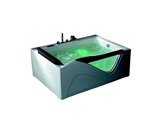 Whirlpool Hampton 180x130 Badewanne Whirlwanne für 2 Personen UVP*3.790,-