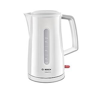 Bosch TWK3A011 Hervidor de Agua, 1.7 litros, 2400 W, Color Blanco