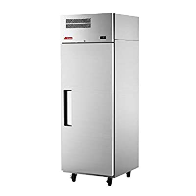 """Turbo Air EF19-1-N Reach-in Single Section E-Line Freezer, 25-1/4""""W & Solid Door"""