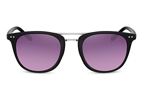 Cheapass Gafas de Sol Puente Doble Clásicas Estilo para Hombre UV400