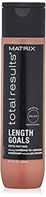 MATRIX Total Results Length Goals Conditioner For Extensions | Improves Manageability & Nourishment | Paraben Free | For Hair Extensions | 10 Fl. Oz.