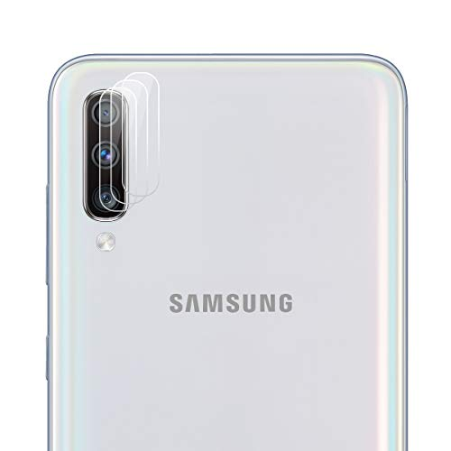 ROVLAK Cámara Protector de Pantalla para Samsung Galaxy A70 Cámara Cristal Templado Protector 3-Pack 9H Anti-explosión Anti-rasguños Cámara Lens Protector para Samsung Galaxy A70
