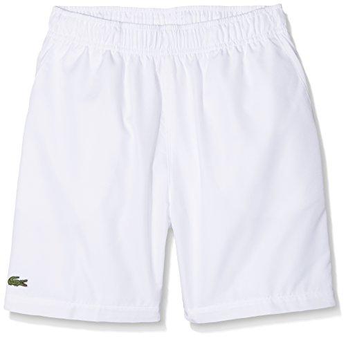 Lacoste Sport Short, Enfant, GJ8636, Blanc, 8 ans