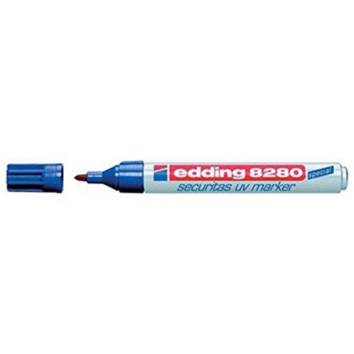 UV-Marker Securitas e-8280, Rundspitze 1,5-3mm, farblos