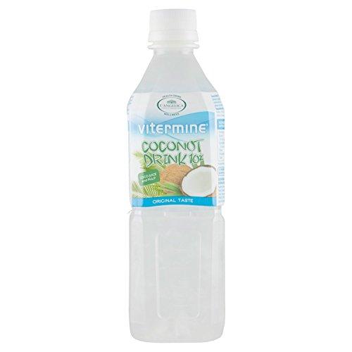 L'Angelica VIT Cocco Drink Original - 4 pezzi da 500 ml [2 l]