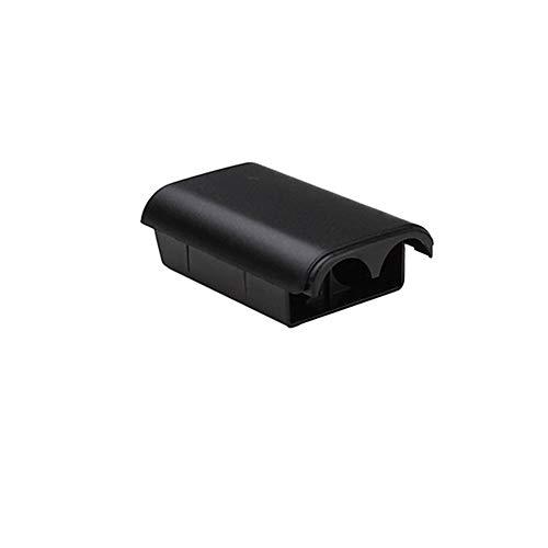 Fliyeong Akkudeckel für Xbox 360 Wireless Controller, Kunststoff, 5 Stück, Schwarz