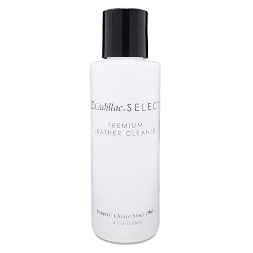 Cadillac Select Premium Leather Cleaner 4 oz - Great for Shoes, Handbags, Jackets, Gloves, Furniture & More