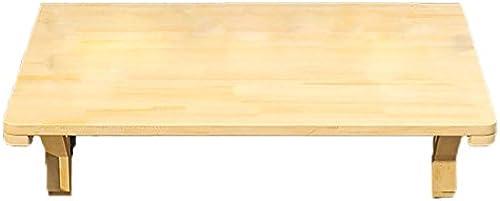 WNX Wand-Tabelle Massivholz Wand Tisch Klapptisch Esstisch Computer Schreibtisch Schreibtisch Wand Tisch Lernen Tisch faltbar (Größe   120  50cm)