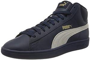 PUMA Unisex Smash V2 Mid L Sneaker