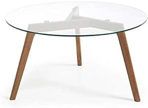 Amazon.es: mesas comedor madera y cristal
