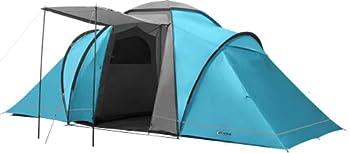 Portal Outdoor Spacious 2 Bedroom with Storage Bag Beta 6 Tente spacieuse 2 Chambres avec Sac de Rangement Mixte, Bleu, 6 Person