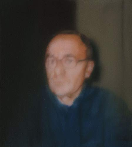 Gerhard Richter Self Portrait - Film Filmplakat - Beste Print Kunstdruck Qualität Wanddekoration Geschenk - A2 Poster (24/16.5 inch) - (59/42cm) - GLÄNZEND dickes Fotopapier