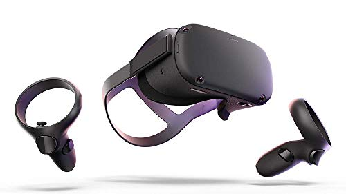 Oculus Quest All-In-One VR Gaming Headset - 64GB (Renewed)