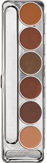 Kryolan DERMACOLOR CAMOUFLAGE CREME PALETTE 6 COLORS 71007 D Professional Grade Makeup