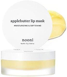 NOONI Applebutter Lip Mask - Korean Skin Care Sleep Mask for Your Lips, Lip Moisturizer for Lip Care and Lip treatment, Korean Beauty Secrets for Amazing Lips, Non-animal tested, Paraben-free